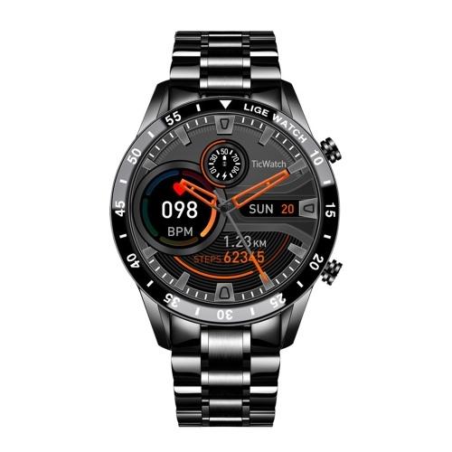 Smart Watch Fitness Tracker Armband Blutdruck Blutdruck Sauerstoffmonitor Smart Sportband Herzfrequenz Schlafmonitor Armband Farbbildschirm IP67 Wasserdicht Message Push