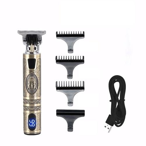 Аккумуляторный дисплей для стрижки волос Профессиональный триммер для волос USB