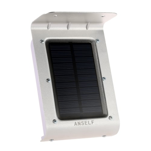 Anself Solar Sensitive Motion Sensor 16 LEDs Outdoor Light Home Security