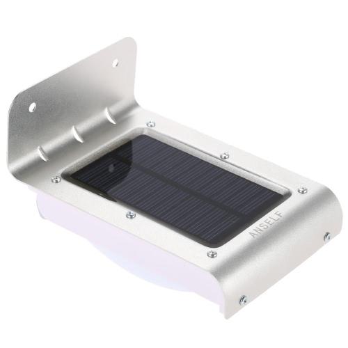 Anself Solar Sensitive Motion Sensor 16 LEDs Outdoor Light Home Security