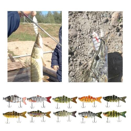 Lixada 600pcs Fish Jig Hooks