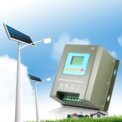 Efficient MPPT TRACER Solar Charge Controller LCD Display 24V 30A/20A Controller for Solar Power Generation System