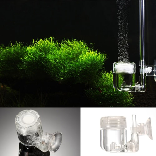 4 in 1 CO2 Diffuser Check Vavle Bubble Count U Shape Tube Sucker Aquarium Fish Tank Plant Accessory Tool