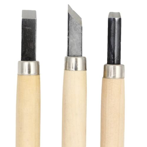 Portable 8pcs/12pcs Burin Sculpting Tool Set