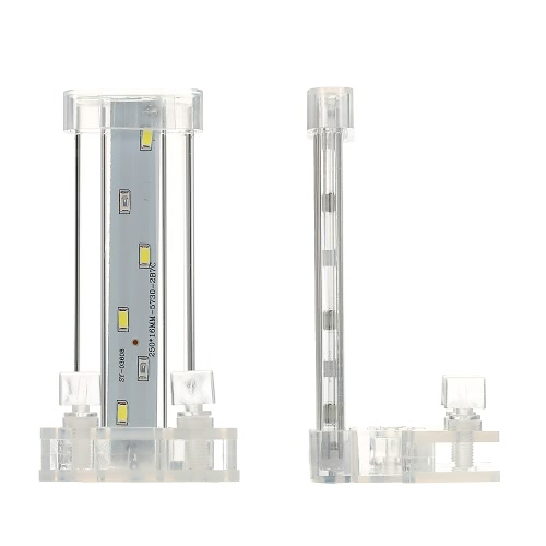8cm / 12cm / 18cm / 28cm Aquarium LED Clamp Clip-on-Lampe High Light LED-Stab SMD5730 Aquarium Blue & White Lighting Rohr AC220V-240V