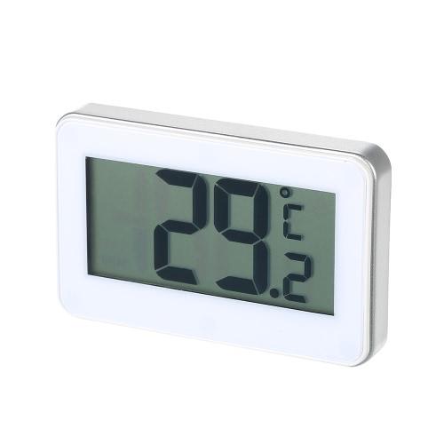 Écran LCD numérique Réfrigérateur Congélateur Réfrigérateur Réfrigérateur Thermomètre Celsius Fahrenheit Commutable avec Crochet Manget arrière