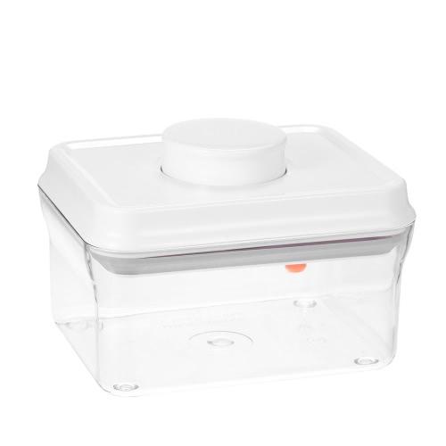 ANKOU 0.7QT BPA-frei Mehrzweck-Lebensmittel-Aufbewahrungsbehälter One Touch Button Luftdicht Milch Pulver Mehl Zucker Nuts Container
