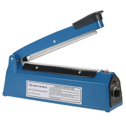 220V 50Hz Scellant de film plastique manuel Scellant à impulsion thermique Sac en polyéthylène Machine à sceller film en plastique Sceau Scellant à main Impulse Sealer