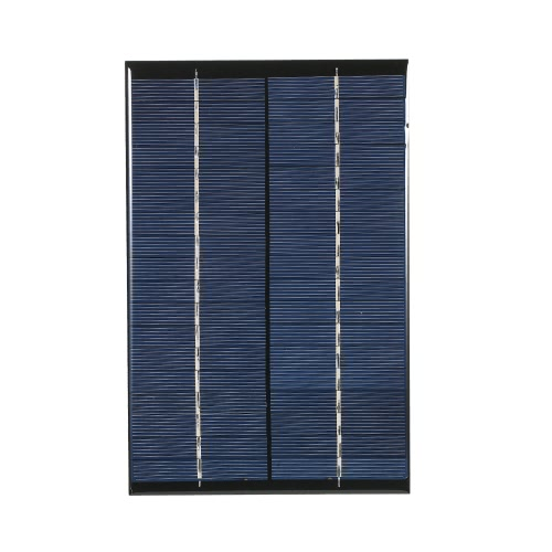 2.5W 18V Polycrystalline Silicon Solar Panel Solar Cell for DIY Power Charger 120*194mm