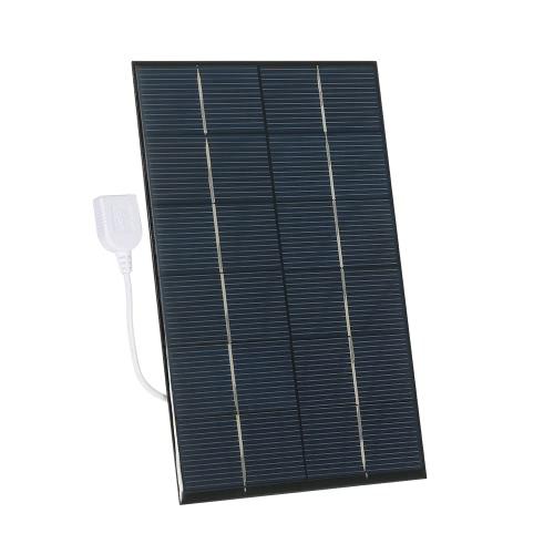 3.5W 6V多結晶シリコンソーラーパネルパワーバンクスマートフォン充電用ソーラーセルUSB充電器