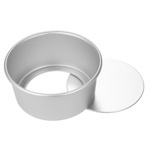 5pcs/set Aluminum Alloy Round Cake Mould