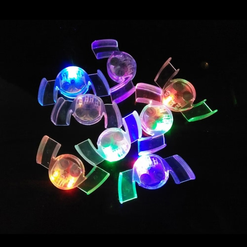 4 lumières LED Bouche clignotante Embouchures multi-couleurs souriantes Bracelets Glow Teeth Light Party Halloween Guard Rave Gift Funny Droth Toys