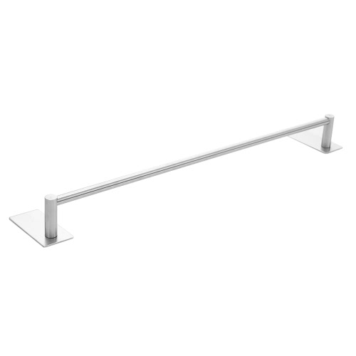 Multifunctional Self Adhesive Towel Bar Rack with Sturdy Hooks Space-saving Wall-mounted Hook Holder High Quality Stainless Steel Storage Organizer Removeable Hook Holder Rack