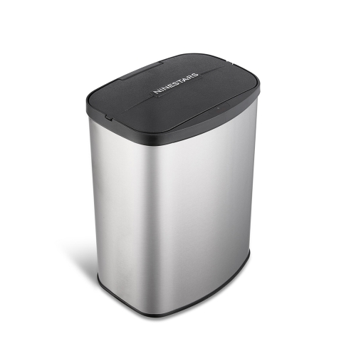 NINESTARS 2.1 Gallon Touchless Sensor Automatic Trash Can Smart Sensor Touchless Garbage Can Dust Bin Trash Bin