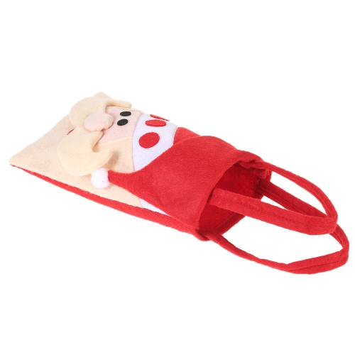 5pcs / set Weihnachtssüßigkeits-Beutel-Geschenk-Verpackung Pocekts Beutel X'mas Dekorationen Verzierungen - Ren