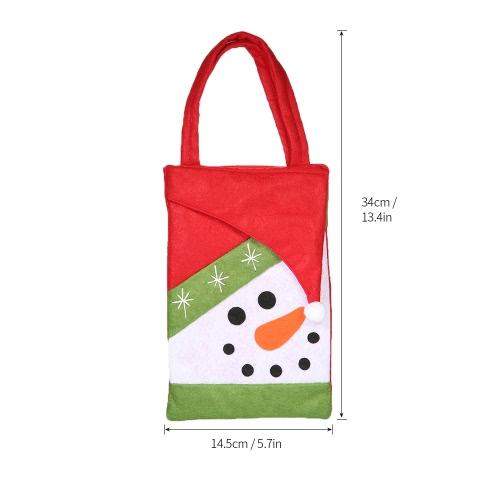 5pcs/set Christmas Candy Bags