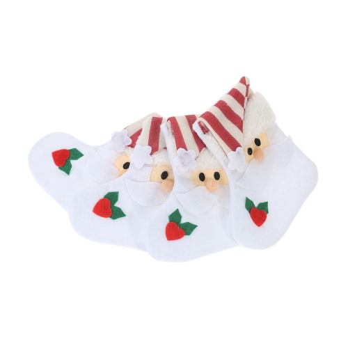 4pcs/set Santa Claus Christmas Cutlery Holders Fork Knife Spoon Bags Pocekts Set Christmas Decor Ornaments