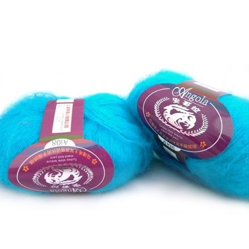 One Skein Mohair Hand Knitting Fios macios Fingering Baby Lã fino Crochet Threads Cachecol Delicado Mulheres lisas Roupa de bebê Estilo 1
