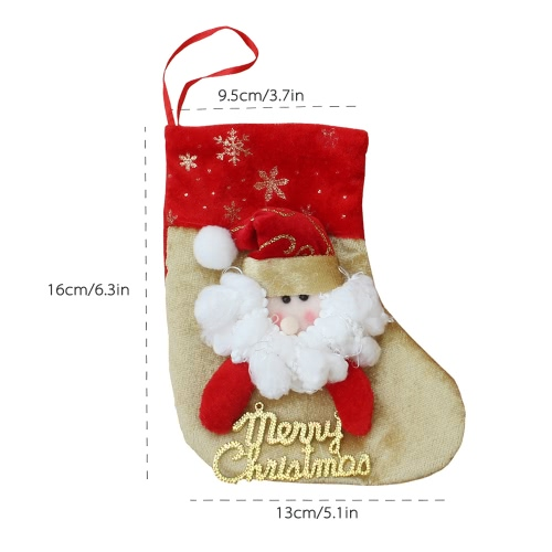 6pcs/set Christmas Hanging Stockings
