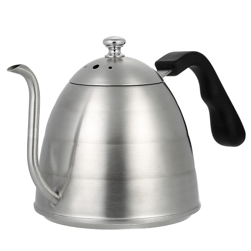 900ml Elegant Gooseneck Coffee Pot High-end Stainless Steel Coffee Pot Good Quality Cafetiere Coffee Kettle Gooseneck Drip Coffee Kettle Stovetop Tea Pot 1