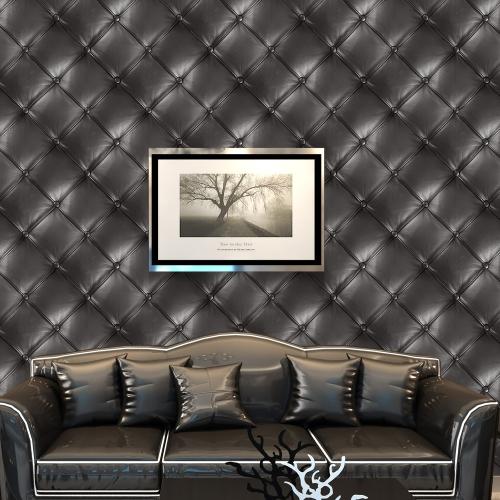125 * 16 дюймов ПВХ Водонепроницаемый Самоклеящиеся 3D-обои Roll Wall Floor Contact Бумажные наклейки, накрывающие наклейки Home Decor - Leaf