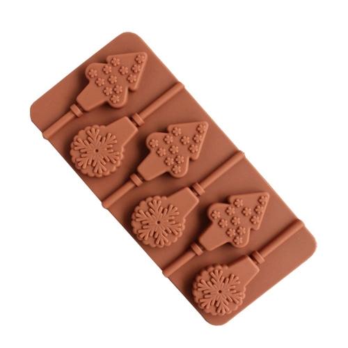 Силиконовая форма Lollipop Mold DIY Baking Cookware Stain Запах Устойчивый силиконовый поддон для выпечки Cupcake Pan Chocolate Mold