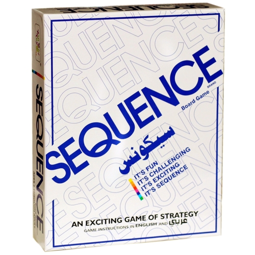 Party Games Sequence Игральные карты Игра Восхитительная игра в стратегии Друзья, играющие вместе