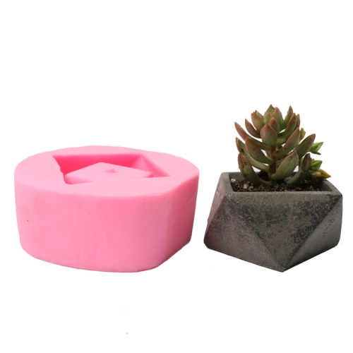 1PCS Flower Potted Planter Silicone Mold Handmade Craft Garden Home Decoration Plant Flowerpot Cement Vase Molds