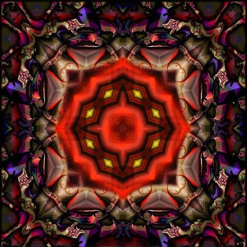 Nueva 5D DIY Diamond Painting Colorful Mandala Pattern Rhinestone Patchwork decoración de la habitación de la pared