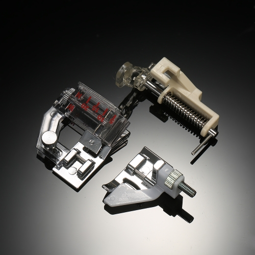 42 pcs Profissional Máquina De Costura Doméstica Pé Presser Peças Acessórios com Caixa de Plástico para Cantor Feiyue Janome Irmão Baixo Shank Máquinas De Costura