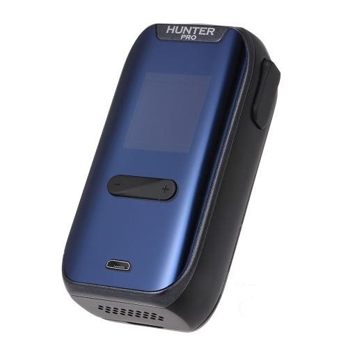 vapeMons HUNTER PRO Mod Box 220W High Power Vape Быстрая зарядка Электронная сигарета с цифровыми часами Большой OLED-экран