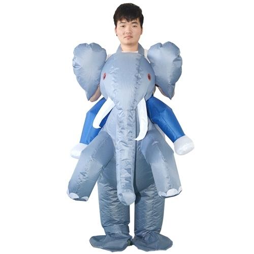 Adulte Eléphant Costume Gonflable