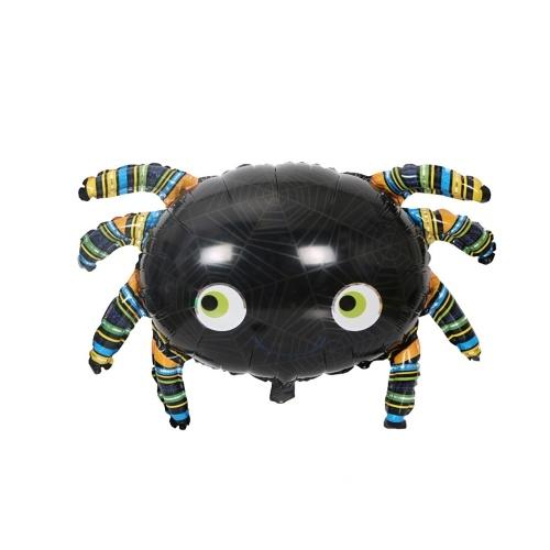Image de 1pc Halloween citrouille fantôme ballons décorations de fête feuille d'aluminium ballons jouets gonflables