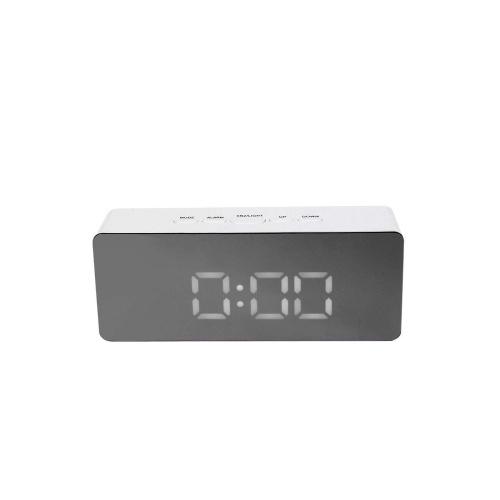 Multifunctional Plastic Mirror Digital Alarm Clock