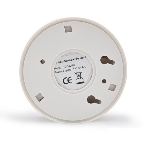 Inicio CO Humo Humo Sensor electroquímico Envenenamiento Alarma LCD Fotoeléctrico Independiente 85DB Advertencia Detectores de monóxido de carbono altamente sensibles