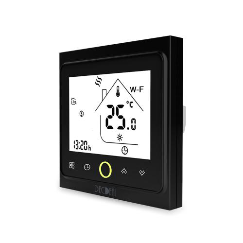 Control de la aplicación del controlador de temperatura del termostato inteligente Wi-Fi MOES 5A Compatible con Alexa / Google Home Water / Gas Boiler para el hogar