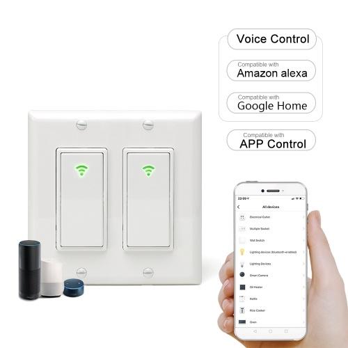 Interruptor de luz de pared inteligente Wi-Fi