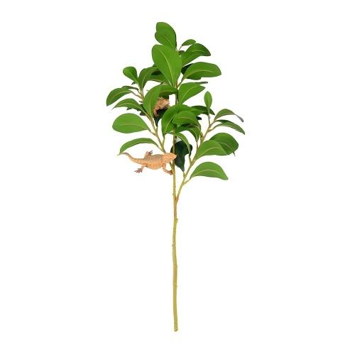 Хабитат Декор Растения Пластмассовые растения Террариум Листья Ветви