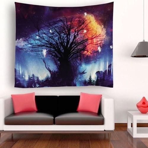 Tapisserie Wandbehang Landschaft Tapisserien Sternenhimmel Tapisserie