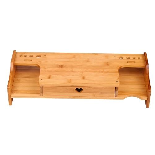 Bamboo Computer Increased Shelf