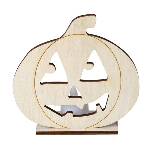 Wooden Candle Lamp Festival Party Supplies