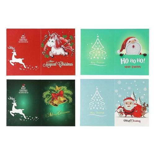 5D Diamond Painting Christmas Cards