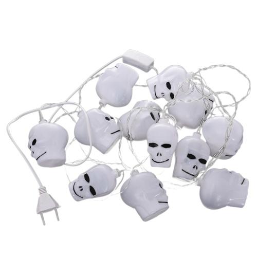 16LEDs String Lights Pumpkin Skull Ghost Sunny Doll Shape Night Light