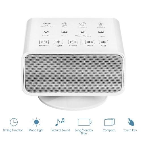 Touch Button BT-Lautsprecher mit natürlichen Klängen und Stimmungslicht zum Schlafen
