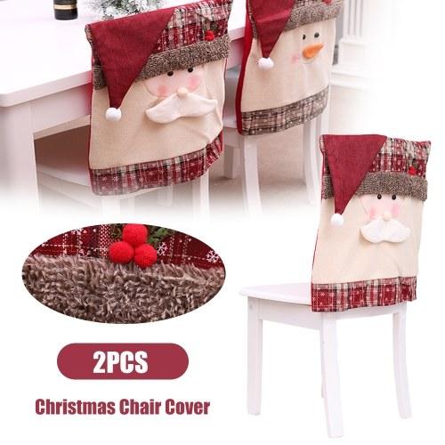 Защитные чехлы на стулья Рождество фото