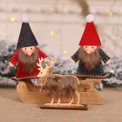 Christmas Santa Doll Ornament
