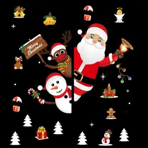 Color Christmas Sticker
