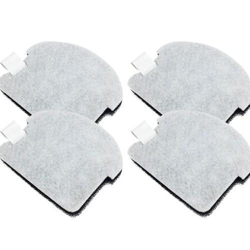 4Pcs Cotton Filter Sponges Compatible with Midea S3-L041C Vacuum Cleaner