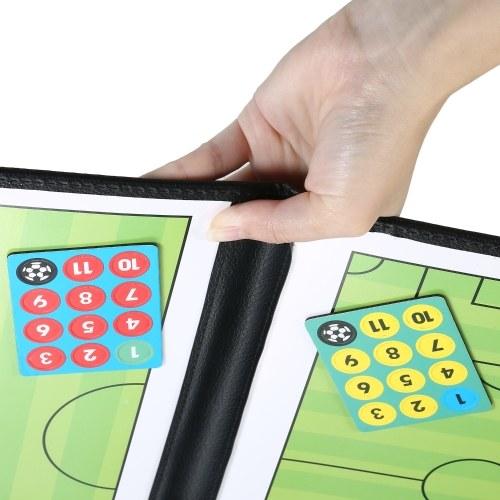 Basketball Coaches Magnetic Tactic Board Appunti strategici pieghevoli con penna per scrivere e scrivere in 2 (1)
