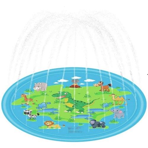 Aufblasbares PVC-Kissen Baby Kids Spray Water Game Pad Sommergarten Rasen Kinder Spielmatte Eltern-Kind-Spiel Wassermatte